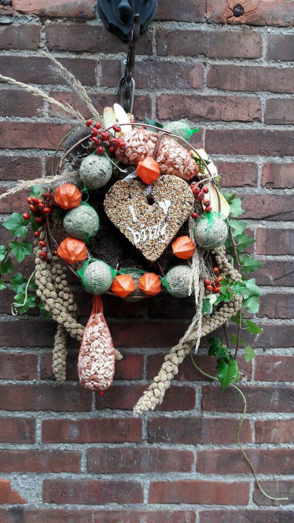 Vogelvoeder decoratie